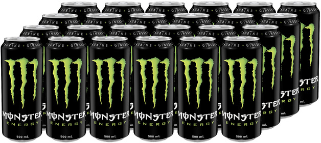 Monster Energy Drink 500ml 24pk | at Mighty Ape NZ