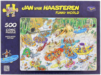 Van Haasteren: 500pc White Water Rafting Puzzle