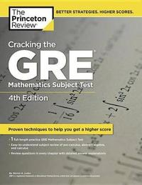 Cracking The Gre Mathematics Subject Test, 4th Edition by Princeton Review image