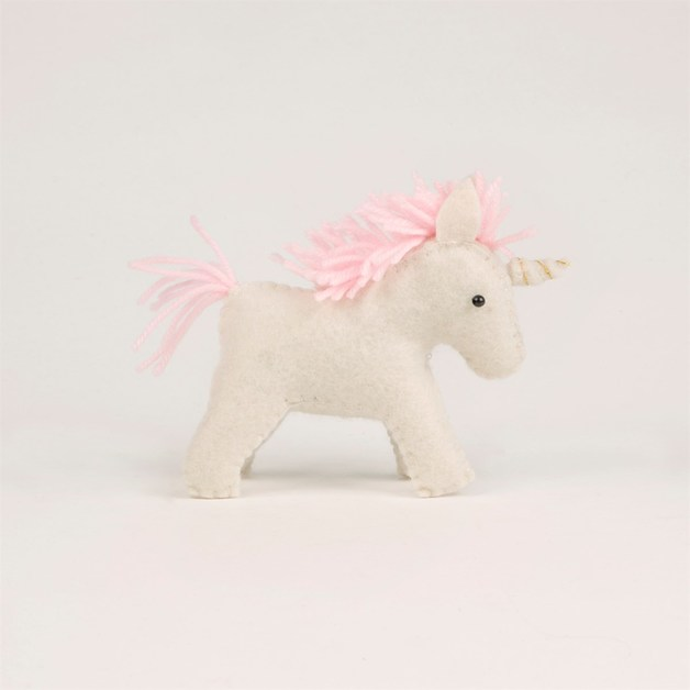 Magical Felt Unicorn Decoration