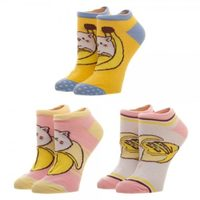 Bananya - Juniors Ankle Sock Set (3 Pack)