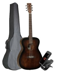 Tanglewood Crossroads Orchestral Guitar, Whiskey barrel col