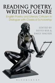 Reading Poetry, Writing Genre