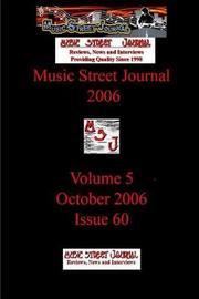 Music Street Journal 2006 by Gary Hill