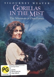 Gorillas In The Mist on DVD