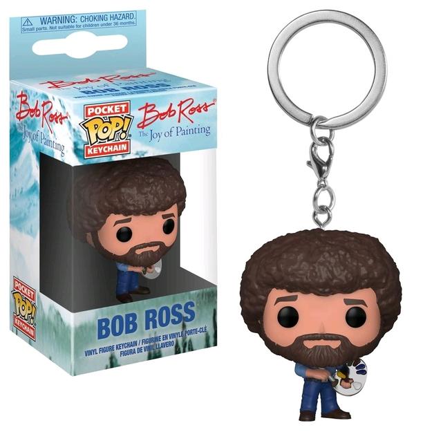 Joy of Painting - Bob Ross Pop! Keychain