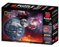 Super 3D: 500-Piece Jigsaw Puzzle - Space Landscape