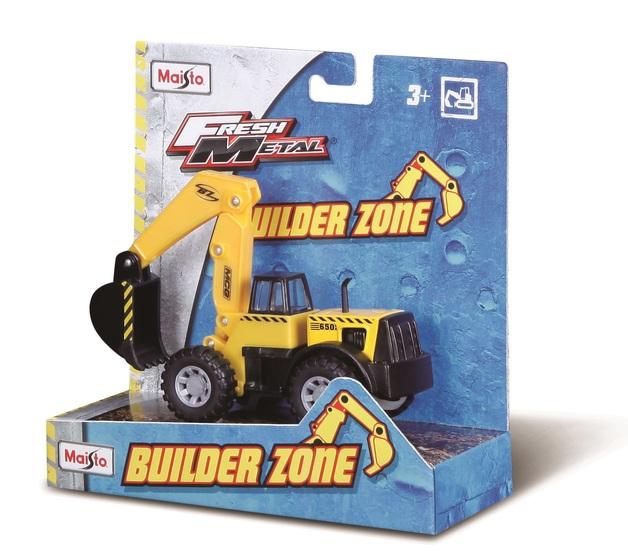 Maisto: Fresh Metal - Builder Zone (Assorted Designs)