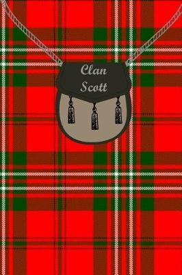 Clan Scott Tartan Journal/Notebook by Clan Scott