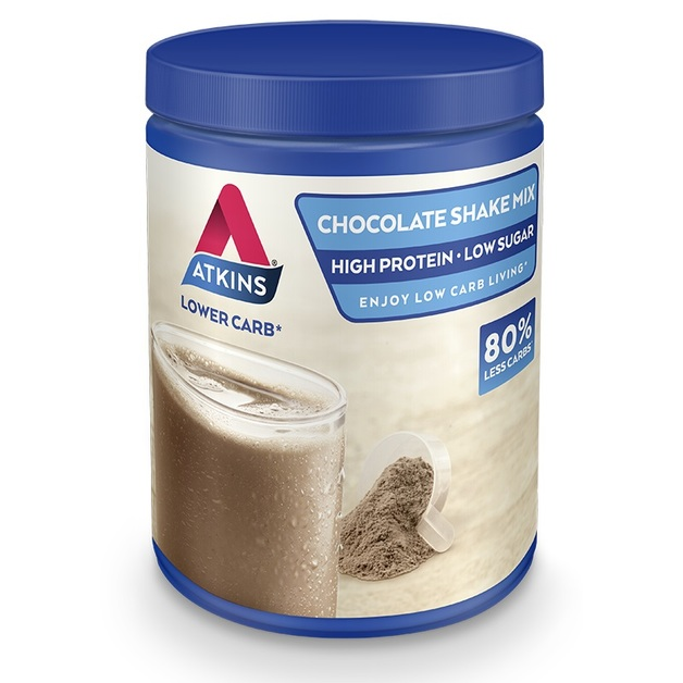 Atkins Low Carb Protein Shake Powder - Chocolate (330g)
