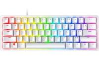 Razer Huntsman Mini Gaming Keyboard - Mercury Edition (Clicky Purple Switch) for PC
