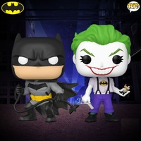 DC Comics: Batman & Joker (White Knight) - Pop! Vinyl 2-Pack
