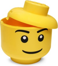 LEGO: Storage Large Head - Boy
