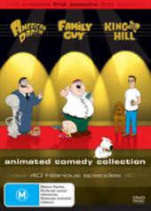 Animated Comedy Collection - Family Guy / American Dad! / King Of The Hill (9 Disc Box Set) on DVD
