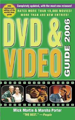 DVD and Video Guide: 2006 by Mick Martin