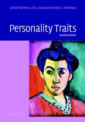 Personality Traits by Professor Gerald Matthews image
