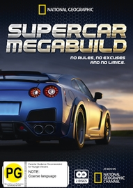Supercar Megabuild on DVD