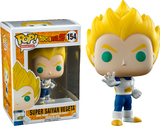 Dragon Ball Z Vegeta Super Saiyan Blue & White Pop! Vinyl Figure
