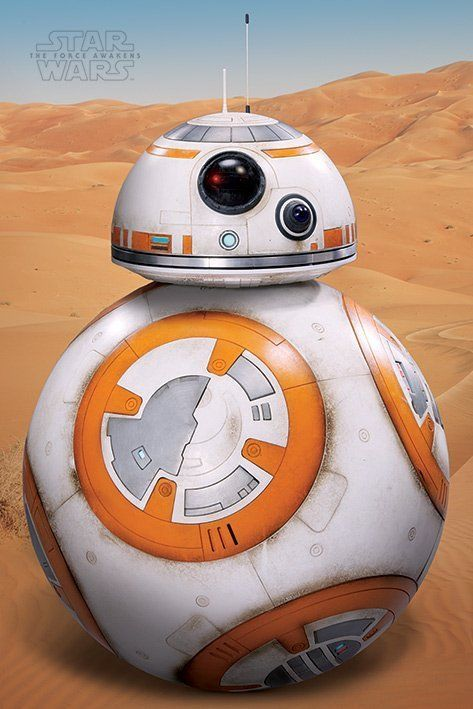 Star Wars: Episode VII The Force Awakens - BB-8 Poster (400)