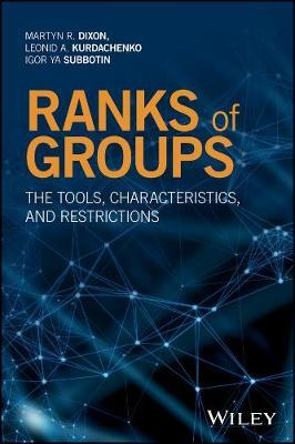 Ranks of Groups by Martyn R. Dixon image
