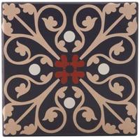 Maxwell & Williams Medina Ceramic Square Tile Coaster - Fes (9cm)