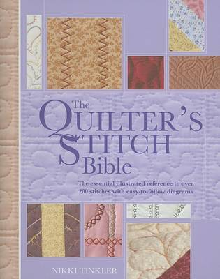 Quilters Stitch Bible by Nikki Tinkler image