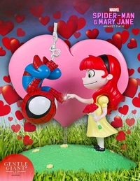 Marvel: Spider-Man & Mary Jane - Animated Statue