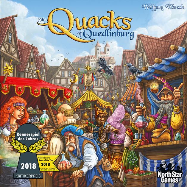 The Quacks of Quedlinburg - Board Game