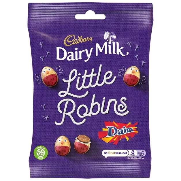 Cadbury Dairy Milk Daim Little Robins (86g)