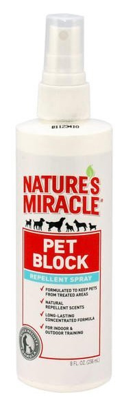 Nature's Miracle Pet Block Repellent Spray 236ml