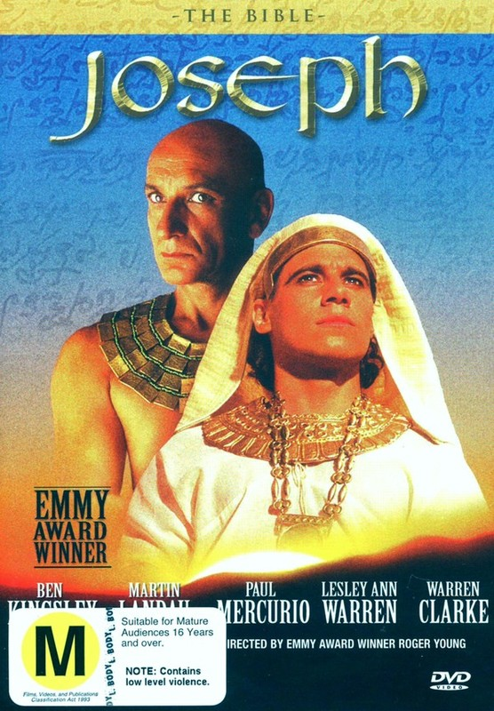 The Bible: Joseph on DVD
