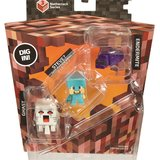 Minecraft: Minis 3 Pack - Diamond Armour Steve