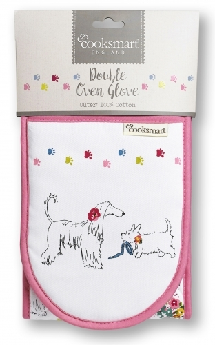 Cooksmart Double Oven Gloves - Dapper Dogs