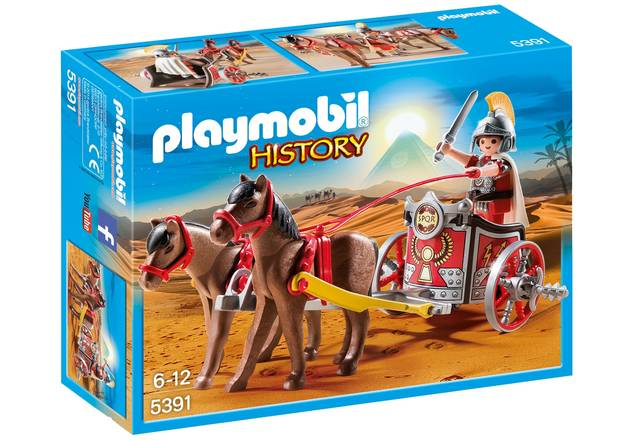 Playmobil: History - Roman Chariot