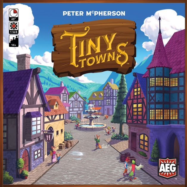 Tiny Towns - Board Game