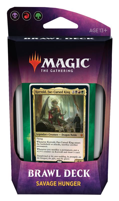 Magic The Gathering: Throne of Eldraine Brawl Deck- Savage Hunter