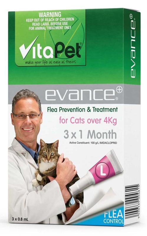 Vitapet: Evance for Cats Over 4kg (3 Pack)