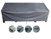 Outdoor Heavy Duty 3 Seater Lounge Chair Furniture Cover - 218(L) x 95(W) x 75cm(H)