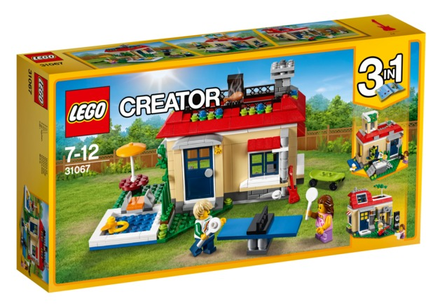 LEGO Creator - Poolside Holiday (31067)