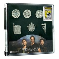 Supernatural: Pewter Pin 6-Pack - (SDCC 2017 Exclusive)