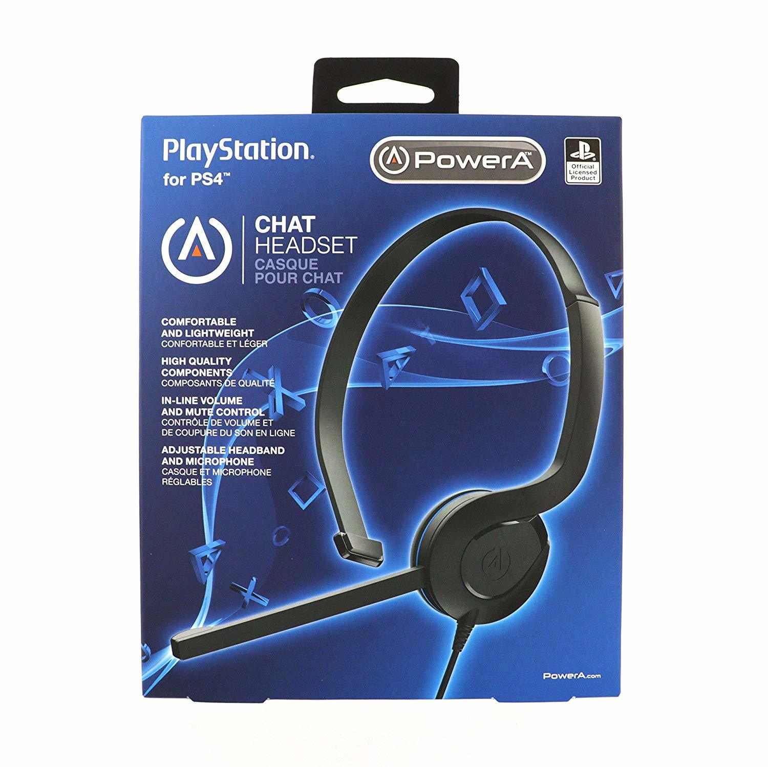 PS4 Licensed Chat Headset for PS4 image