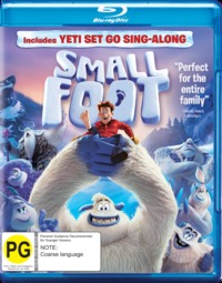 Smallfoot on Blu-ray