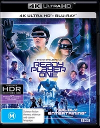 Ready Player One (4K UHD + Blu-ray) on UHD Blu-ray