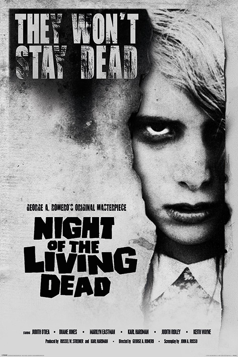Night of the Living Dead Maxi Poster - Living Dead Girl (980)