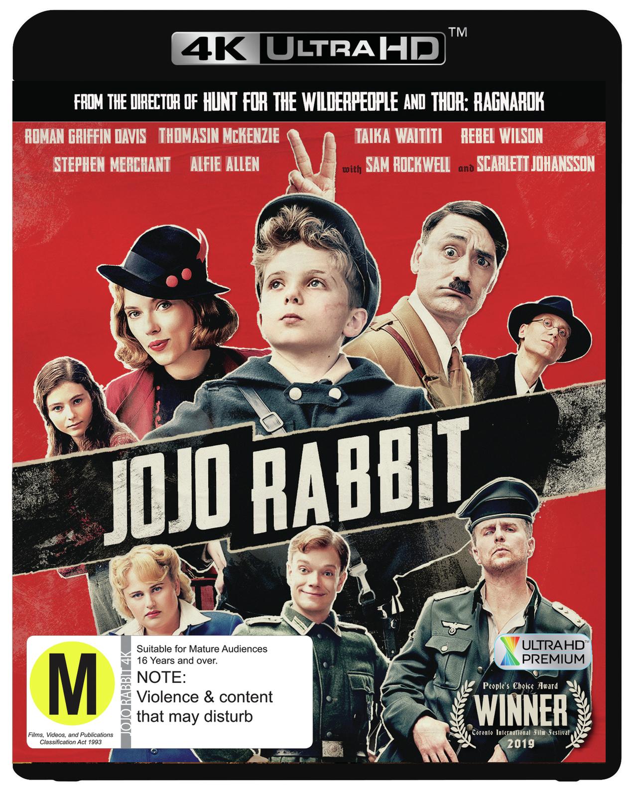 Jojo Rabbit on UHD Blu-ray image