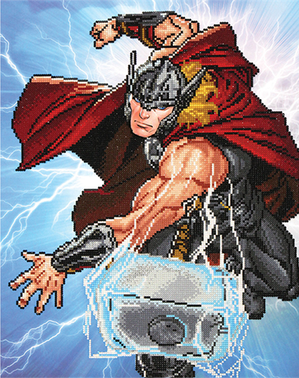 Diamond Dotz: Facet Art Kit - Thor: Strikes!