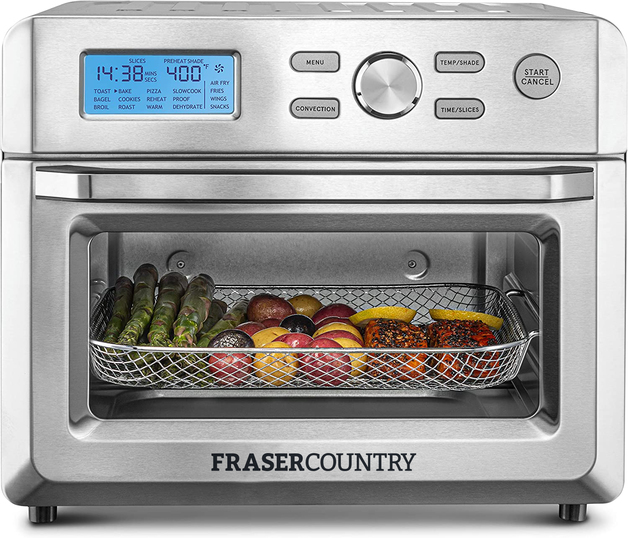 Fraser Country 18L Oven Air Fryer 2 in 1 Combo