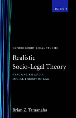 Realistic Socio-Legal Theory by Brian Z. Tamanaha image