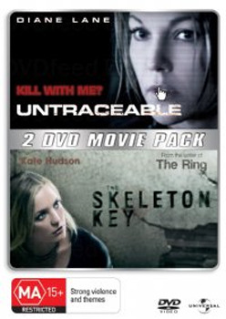 Untraceable / Skeleton Key, The (2 Disc Set) on DVD