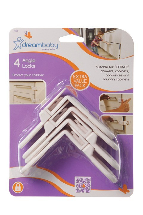 Dreambaby Angle Locks - 4 Pack